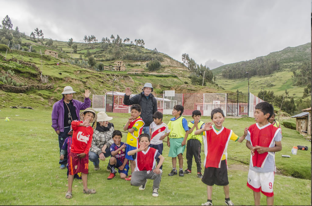 Volunteer Colca near Peru