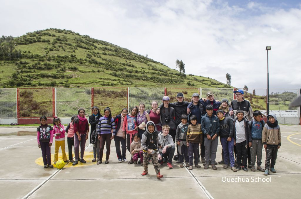 Volunteer Abroad in colca Peru with Children